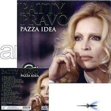 "PATTY PRAVO ""PAZZA IDEA"" CD VERSIONI ORIGINALI NEW 2011"