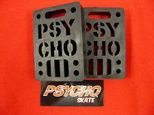 "PSYCHO SHOCK RISER - 1/2"" SET OF 2 PADS *NEW* BLACK"