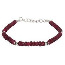 Gioielli di lusso rosso rubino in argento