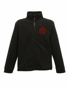 MG Embroidered Logo Classic Car Fleece Jacket Personalised Free P&P