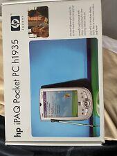 Hp iPaq H1935 Pocket Pc (Fa164A#8Zp) Sealed. send offers