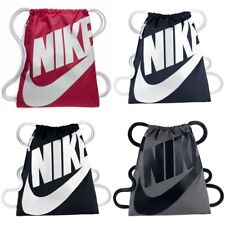 DRAWSTRING BAG - NIKE HERITAGE GYM BAGS RRP £18 - BLACK / GREY / PINK