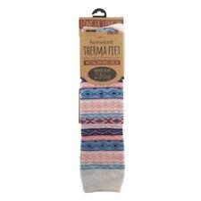 Homeknit Damen Socken Gummistiefel, Pink Extra Lang Warm Winter Gummistiefel
