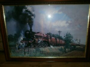 Framed Print The Lickey Incline By Terence Cuneo  June 1968.