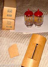 2 Vintage Western Electric 377A Plug Vacuum Tubes
