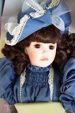 NIB Franklin Mint JUMEAU Doll by Maryse Nicole Porcelain NRFB sold 4 $195 n 1994
