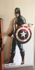 Captain America The First Avenger Life Size Cutout Display Cardboard Chris Evans