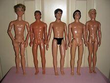 Five Guys (Disney & Mattel dolls) - variety of hair, body, eye color - all nude