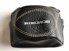 Nikon Nippon Kodak Nikonos Leather (?) Camera Case for Nikonos 1 (and 2?) Nice