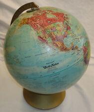 "Vtg Replogle World Nation Series 12"" Globe Ussr Upper Volta Leroy M. Tolman"