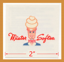 Mister Softee Ice Cream Truck - 30 Advertising Tattoos - Lot of 30 Brand New