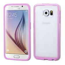 Étuis, housses et coques roses transparentes Samsung Galaxy S6 pour téléphone mobile et assistant personnel (PDA)