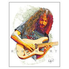 "Guthrie Govan Fusion Guitar Jazz Erotic Cakes 11x14"" Music Art Print Poster"