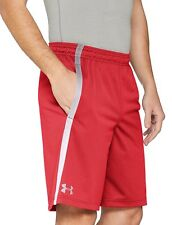 Under Armour Tech Mesh Shorts - Red, Large
