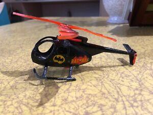 Vintage Batman Corgi Bat-copter helicopter 1960s / 1970s