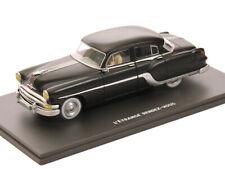 1:43 Blake & Mortimer - Pontiac Chieftain 1954 - mattschwarz