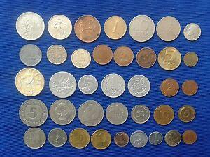 Vintage - Coin MIX world 38 pieces - Monety MIX swiat 38 sztuk.