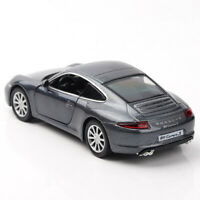 Porsche 911 Carrera S 1:36 Model Car Diecast Toy Kids Collection Gift Grey