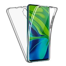 Case for Xiaomi Mi Note 10 / Note 10 Pro Full Body 360 Gel Cover Front and Back