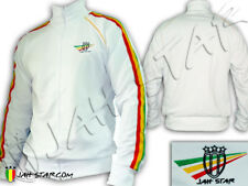 Rasta Jacket Rastafarian Lion Jah Star Wear Logo Embroidered