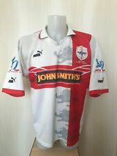 VINTAGE England Rugby League World CUP 1995 Size L Puma  shirt jersey maillot