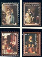 TUVALU Sc 943-7 NH ISSUE OF 2004 - ART OF HERMITAGE IN RUSSIA