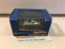Hot Wheels  Ford Shelby GR-1 Concept * Silver * 1/87 Scale in Acrylic Case * h39