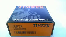 Timken L45449 / L45410 - SET8 - Cup & Cone Tapered Roller Bearing