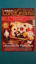 Landgenuss Spezial Weihnachtsbäckerei  Nr.3/2016   ungelesen 1A absolut TOP