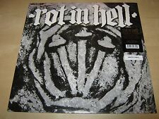 ROT IN HELL & PSYWARFARE Split 12 SS NEW White Vinyl SEALED LP 2013+Mp3 Download