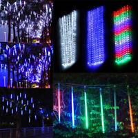 30cm/50cm 192/320 LED Meteor Shower Rain Xmas String Light Waterproof 8 Tubes S