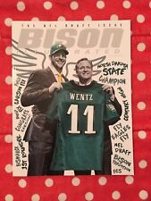 Carson Wentz Bison Illustrated May 2016 Eagles NDSU