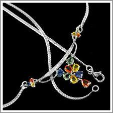 "Cubic Zirconia 16 - 17.99"" Fine Necklaces & Pendants"
