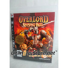 Jeu PS3 Overlord Raising Hell - PlayStation 3 - Codemasters / 4J Studios