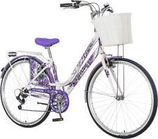 breluxx® 28 Zoll Damenfahrrad Venera Fashion Lavendel Citybike mit Korb + Licht,