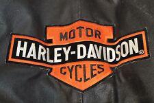 Vintage Early 90' Harley Davidson Men's  Leather Jacket Grace Leather Group SZ L