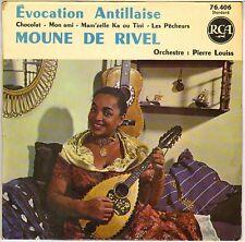 "MOUNE DE RIVEL / PIERRE LOUISS ""CHOCOLAT"" BIGUINE CALYPSO EP 1960 RCA 76406"
