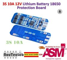 3S 10A 12V Li-ion Lithium 18650 BMS PCM Battery Protection Board