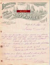 Beau Document du 31/03/1917 POTIER Harengs salaisons - Honfleur 14