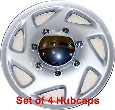 Ford Truck Econoline Hub Caps 16 Inch Wheels E150 E250 E350 E450, Pack of 4 HS