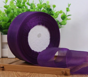 Gift Wrapping Organza Ribbon Yard Roll Wedding Party Christmas Craft Decoration