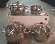 WMF Quality One Kochtopfset 4 teilig mit Stielkasserolle