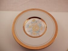 Vintage Chokin plate 24K gold edged Japan 6""