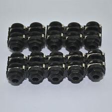 "10PCS 6.35mm(1/4"") Female Mono Jack Socket Panel PCB Welding,2008"