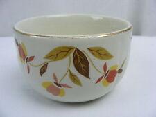 Vintage Hall Superior China Autumn Leaf Jewel T 7 Oz Custard Cup or Bowl