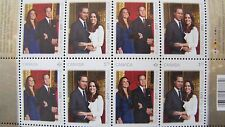 2011 Canada Royal Wedding Full Sheets Prince William and Kate Middleton