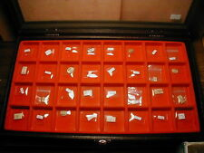 New~32pcs Mix Brand ~ Glass Watch crystal Lot ~Look Photo F Shape & size  #NC 17