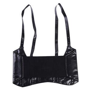 Women Top Body Harness Leather Bondage Bra Chains Belt Strap Corset Bustier BB