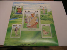 Fiji 2006 Golfista Vijay Singh Foglio