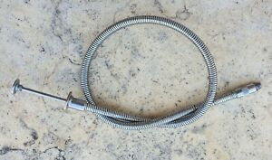 VINTAGE GERMAN STAINLESS STEEL SHUTTER CABLE RELEASE
